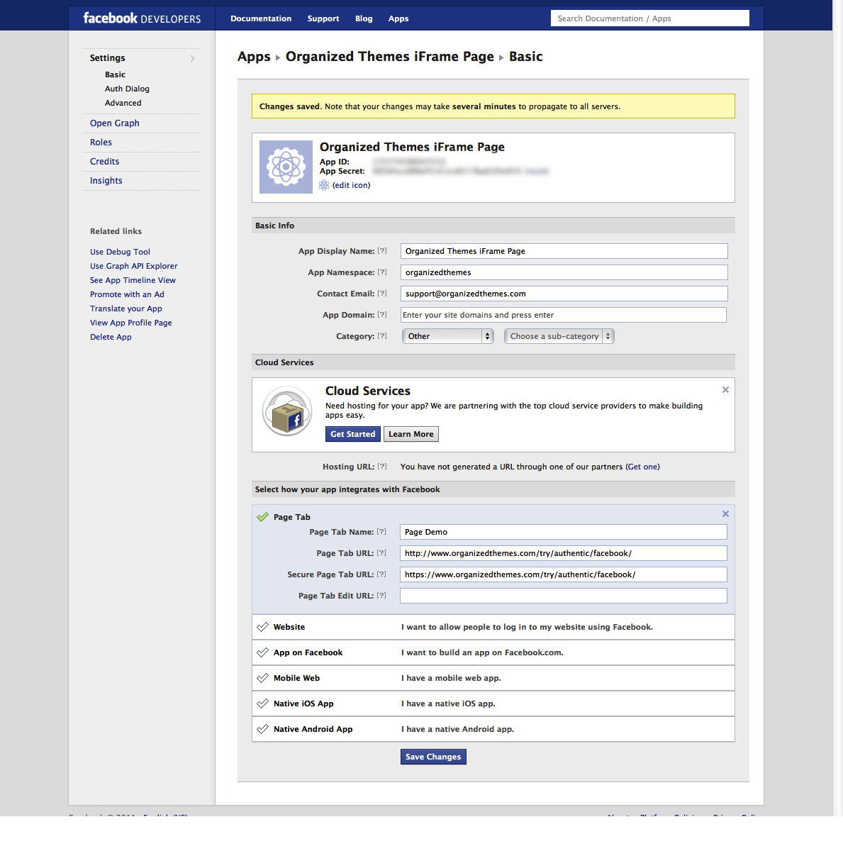 Set Up A Custom Facebook Page Tab Organized Themes Support